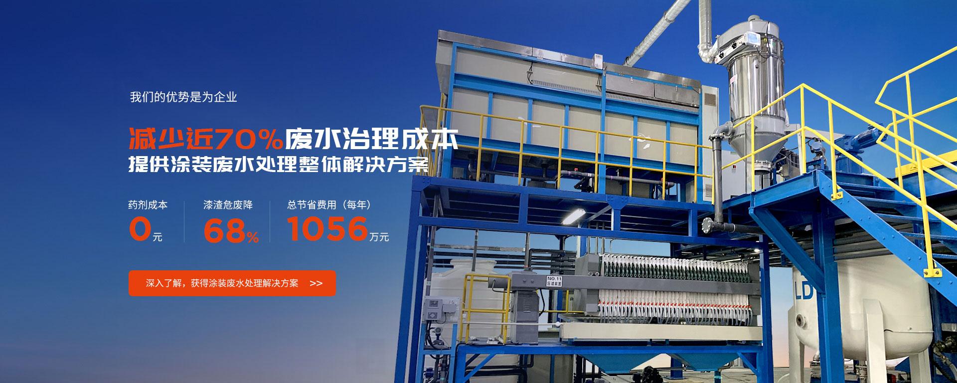京上环保提供涂装废水处理整体解决方案