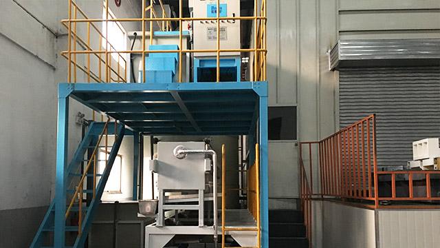 油机机械工业水性油漆废水处理设备案例